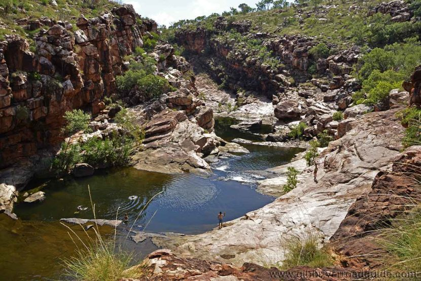 Bell Gorge waterholes