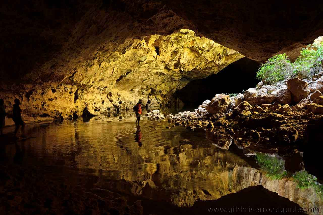 Tunnel Creek cave opening