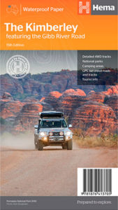 Gibb River Road map